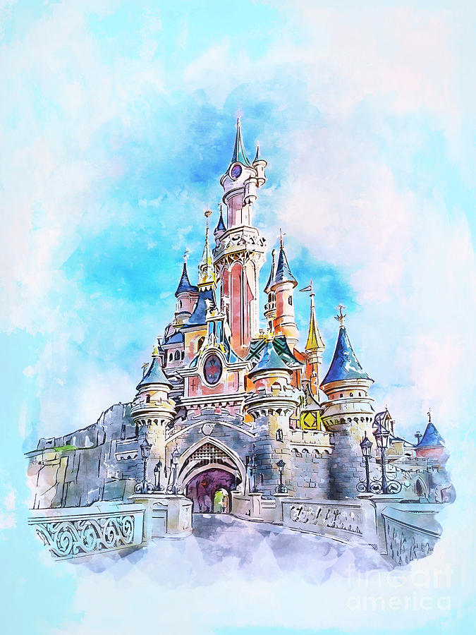 Magic Castle by Andrzej Szczerski