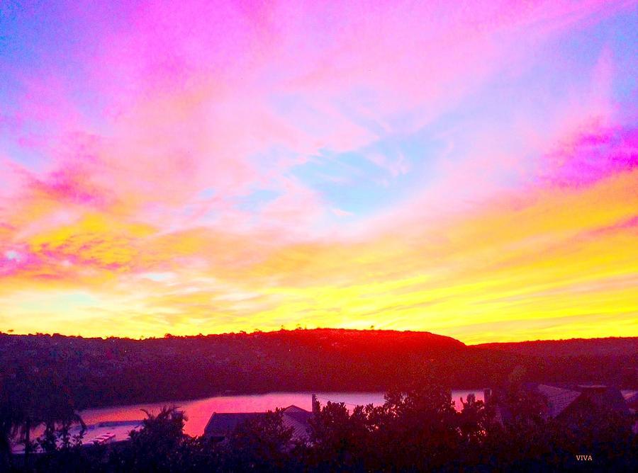 Magic Mosman Sunset by VIVA Anderson