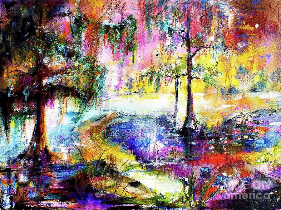 Magic of the Wetland Okefenokee Georgia by Ginette Callaway