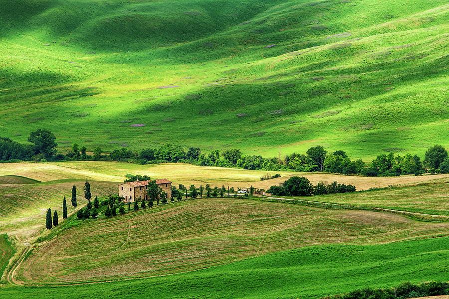 Tuscany Photograph - Magic of Tuscany by Andrei Dima