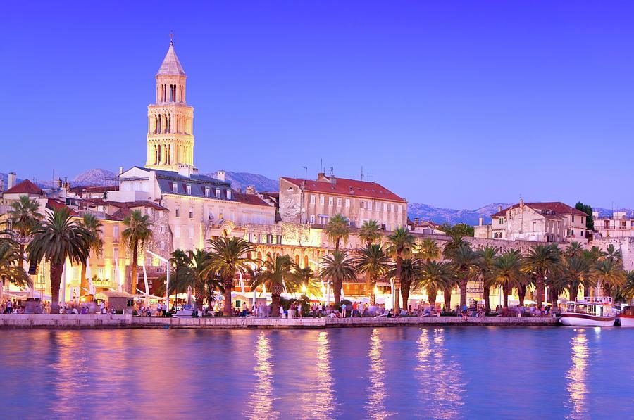 Magical Cityscape Of Old Town Split Photograph by Aleksandargeorgiev