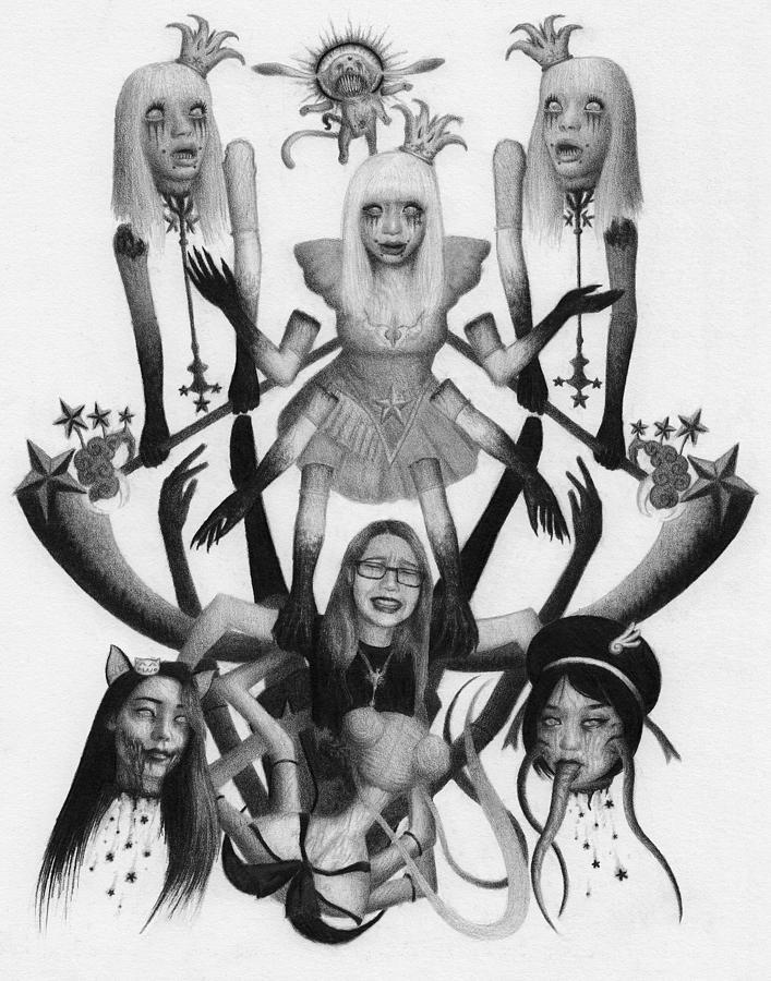 Magical Girl Violation Princess - Artwork by Ryan Nieves