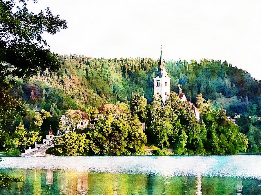 Magical Lake Bled by Joseph Hendrix
