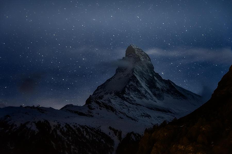 Magical Matterhorn by Robert Fawcett