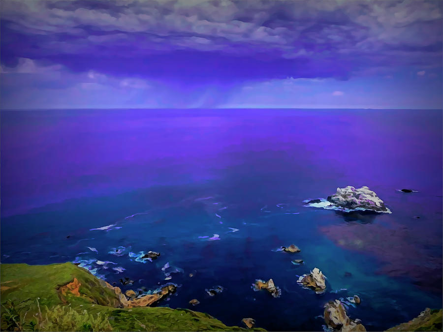 Magical Oceans - July by Lisa Blake