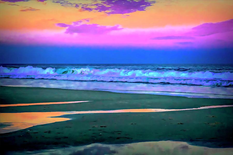 Magical Oceans - October by Lisa Blake