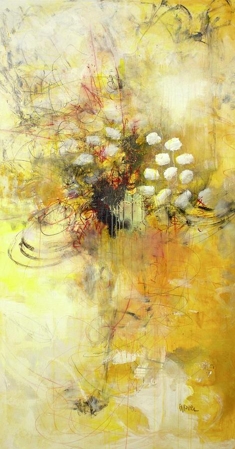 Magnificant the Yellow Painting by Laurie Maves ART