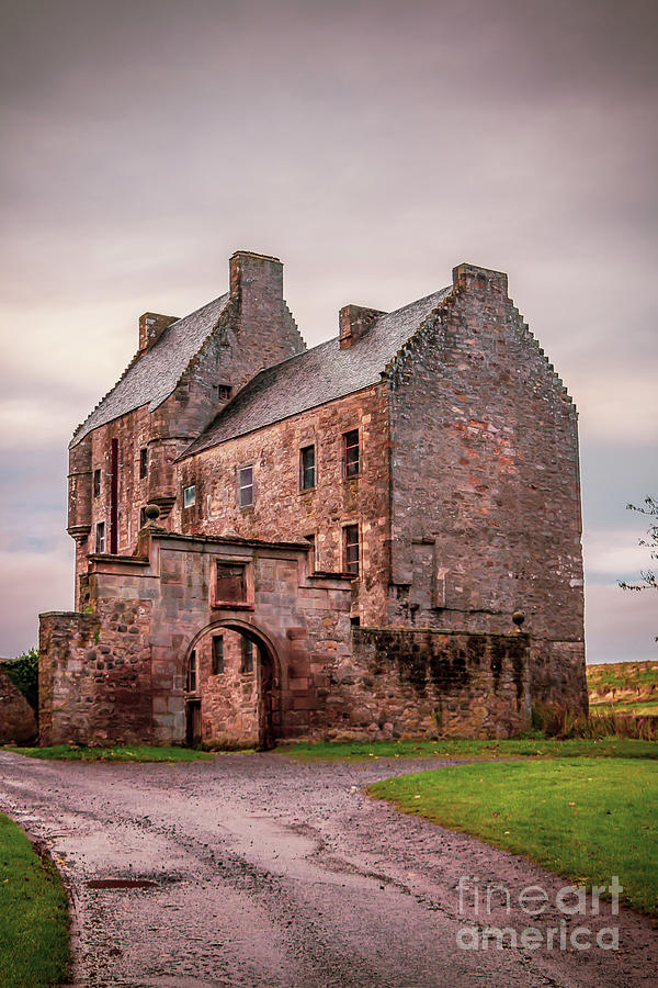 Magnificent Midhope Castle Photograph