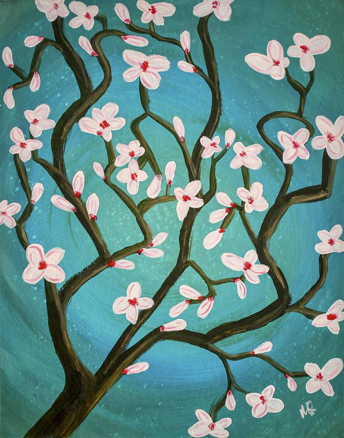 Melissa Smith Painting - Magnolia by Melissa Smith