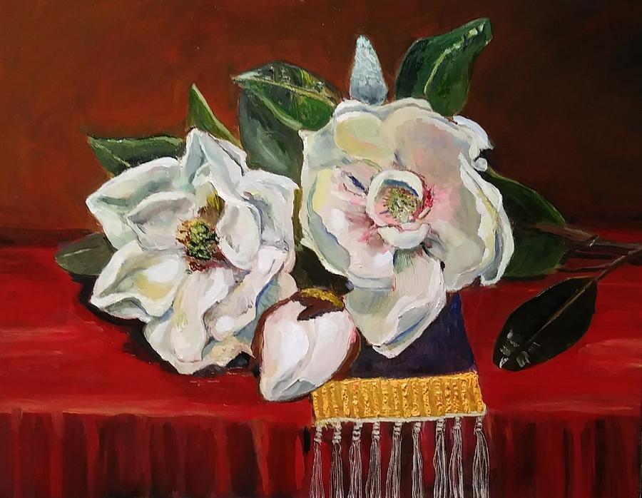 Magnolias by Mike Benton
