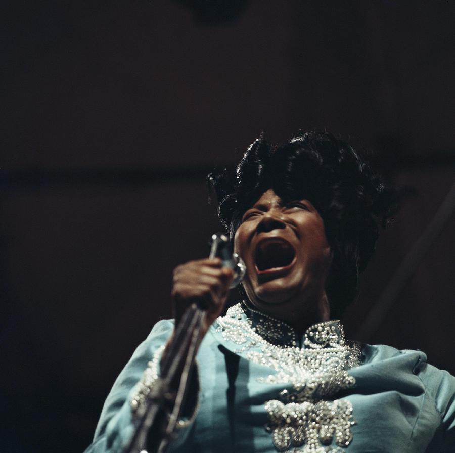 Mahalia Jackson In Concert Photograph by David Redfern