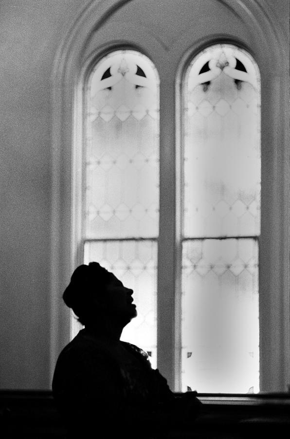 Mahalia Jackson Sings At A Church Photograph by Michael Ochs Archives