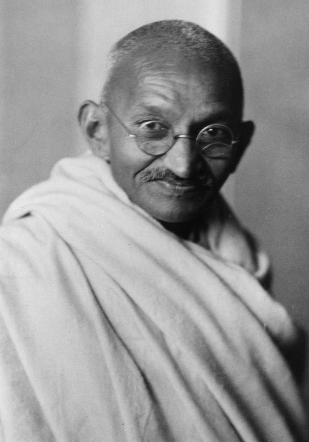 Mahatma Gandhi Photograph by Elliott & Fry