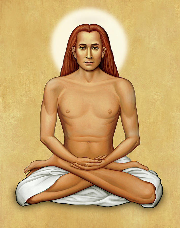 Mahavatar Babaji on Gold by Sacred Visions