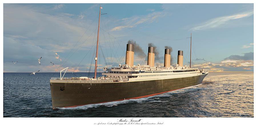 Maiden Farewell - 1912 Titanic by Craig Tinder
