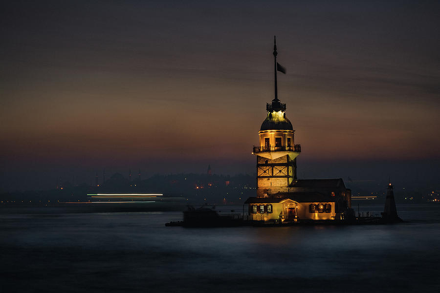 Maiden's Tower 1 by Suleyman Derekoy