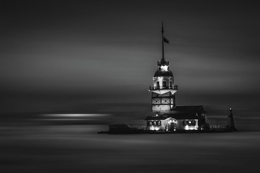 Maiden's Tower 3 by Suleyman Derekoy