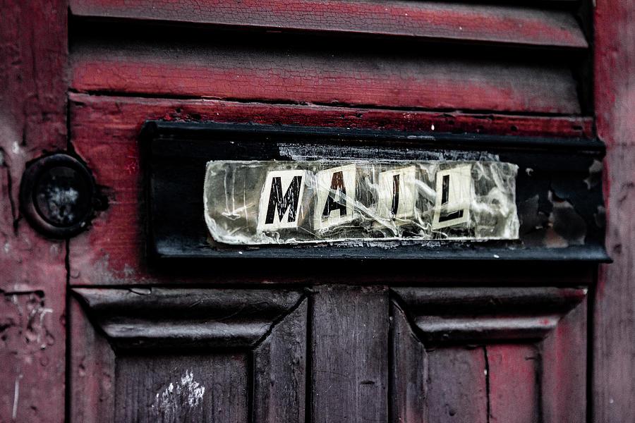 Mail slot  by Jason Hughes