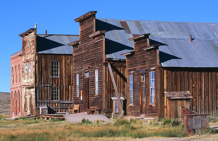 Main Street Buildings At Bodie Historic Photograph by John Elk Iii