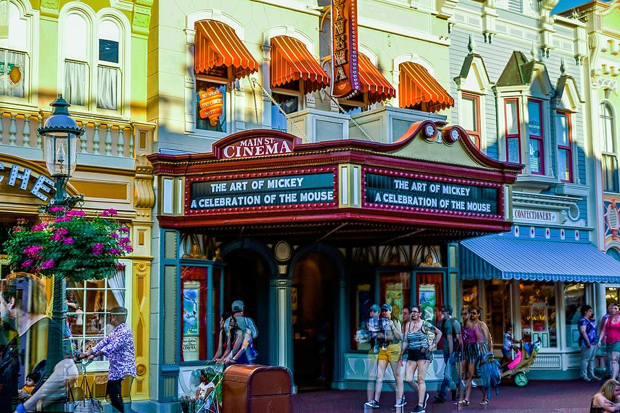Main Street Cinema by Rodney Lee Williams