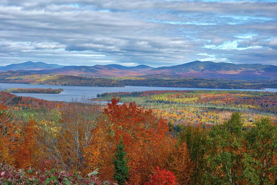 Maine Fall Colors by Russ Considine