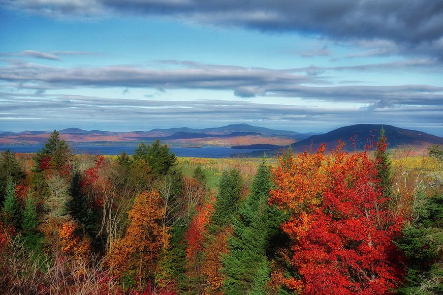 Maine Fall Foliage by Russ Considine
