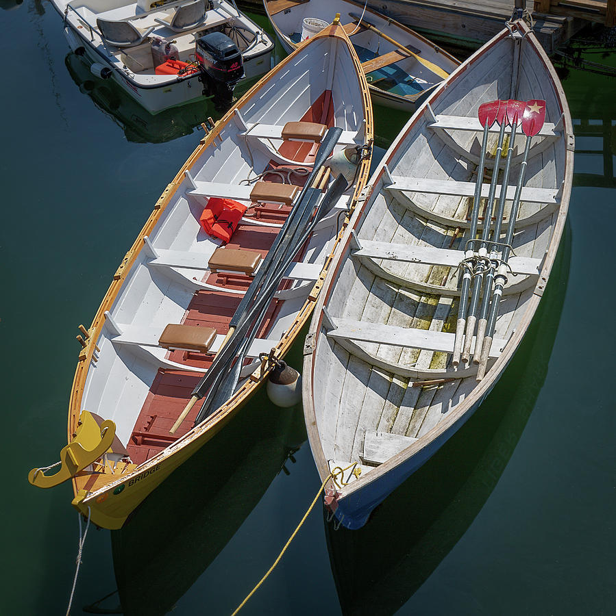 Maine Long Boats by MIKE MCQUADE