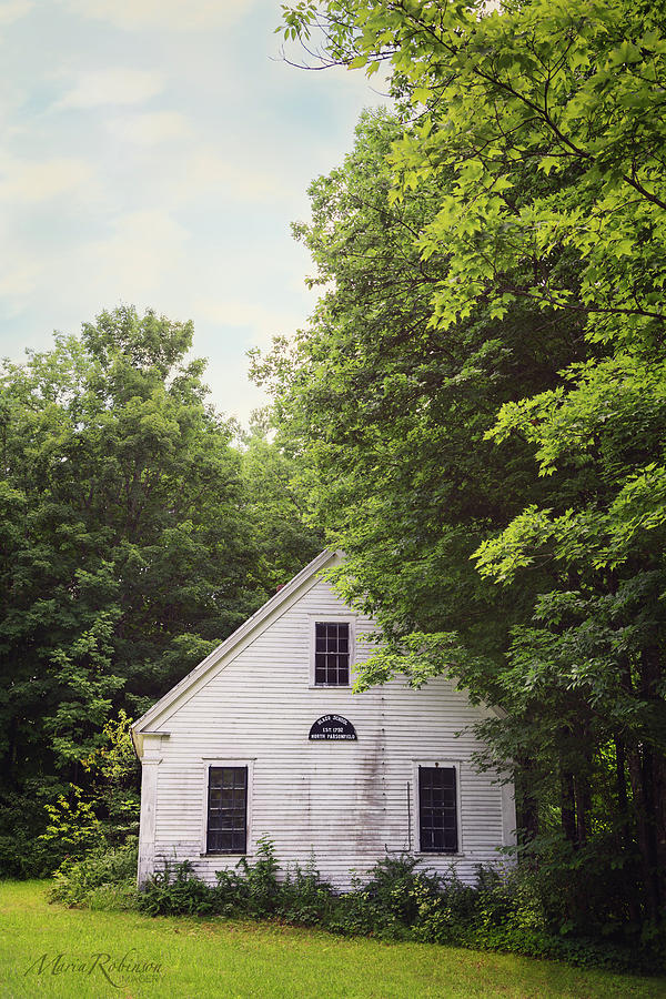 Maine School House by Maria Robinson