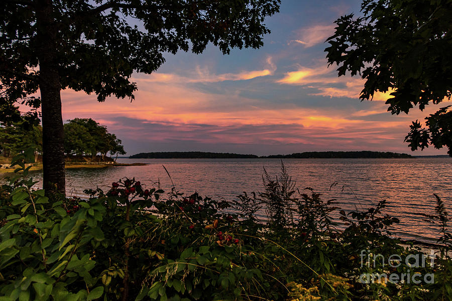 Maine September Sunset Photograph