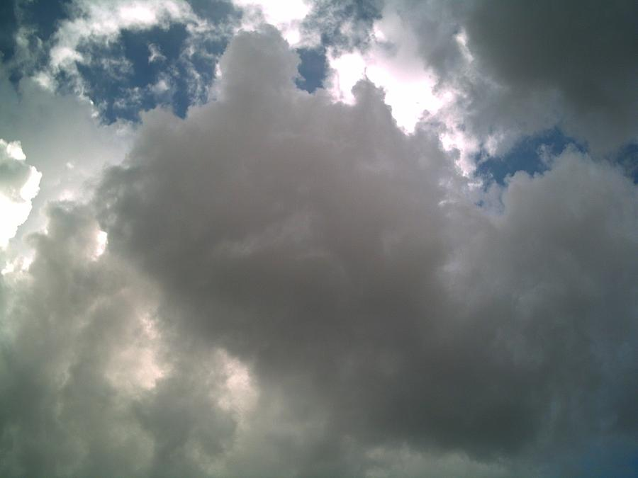 Cloud Photograph - Majestic by Jeff Thomann