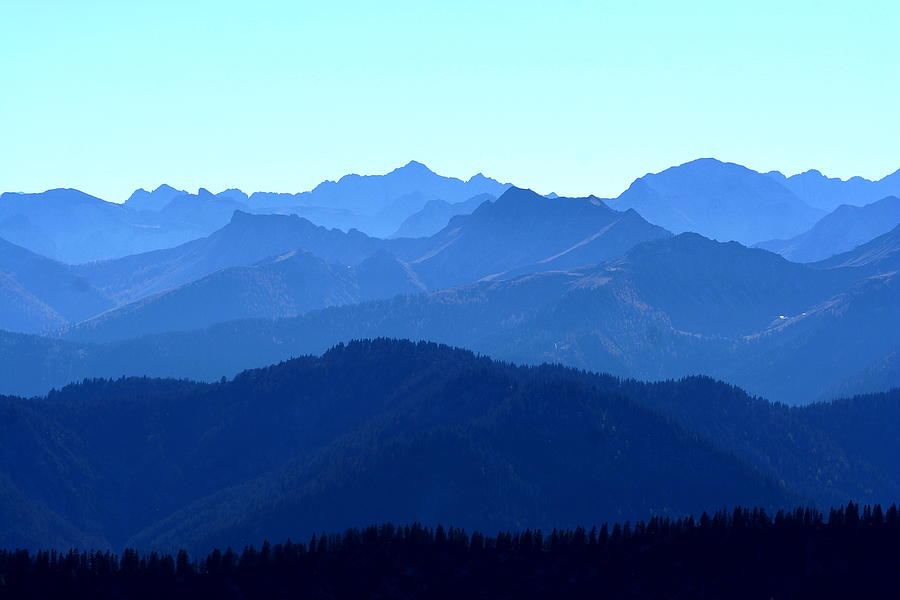 Majestic Mountain Landscape In Various Photograph by Ra-photos