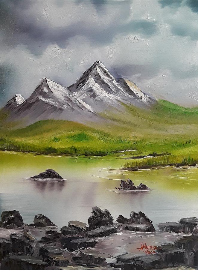 Majestic Mountain View by Anthony Nunez