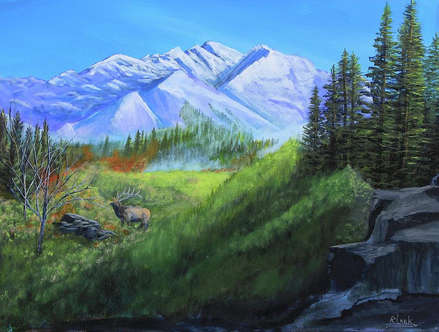 Majestic Mountain View by Robert Clark