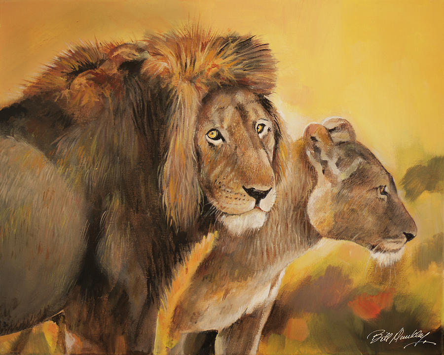 Majestic Pair by Bill Dunkley