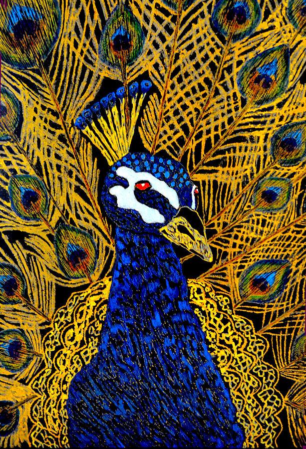 Majestic Peacock by Kingsley Krafts