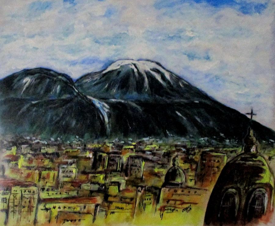 Majestic Vesuvio  by Clyde J Kell