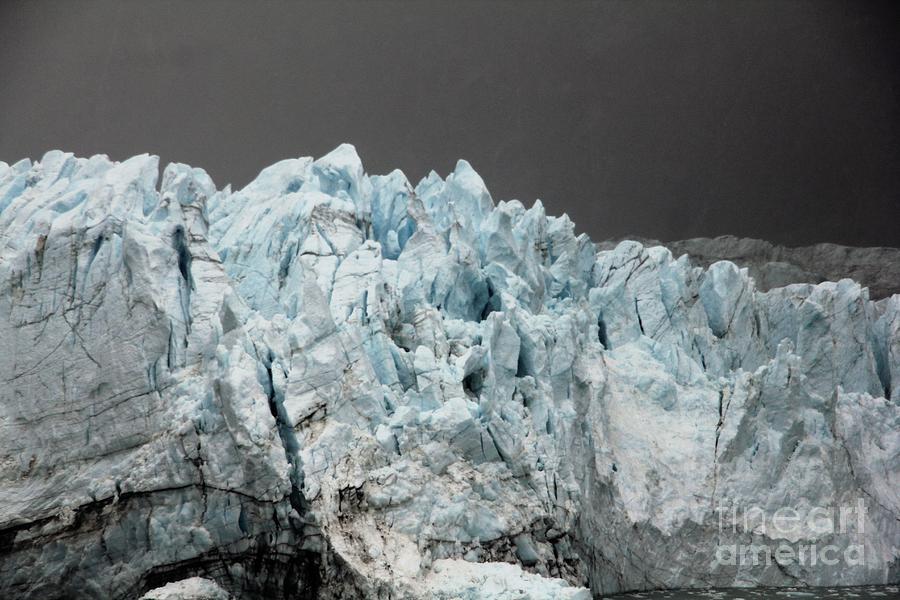 Majorie Glacier  by Diane Greco-Lesser