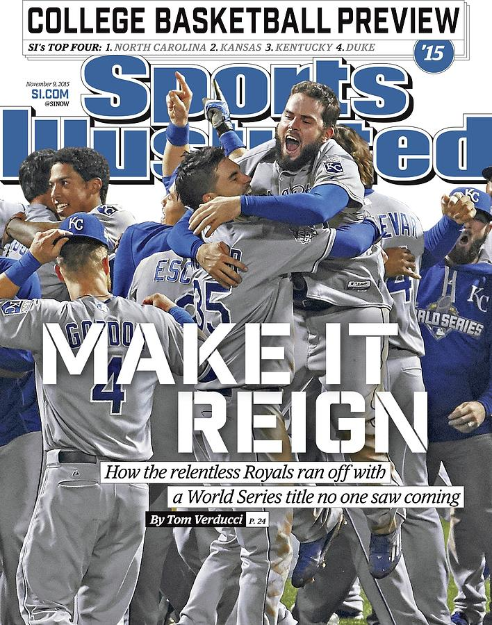 Magazine Cover Photograph - Make It Reign How The Resilient Royals Ran Off With A World Sports Illustrated Cover by Sports Illustrated