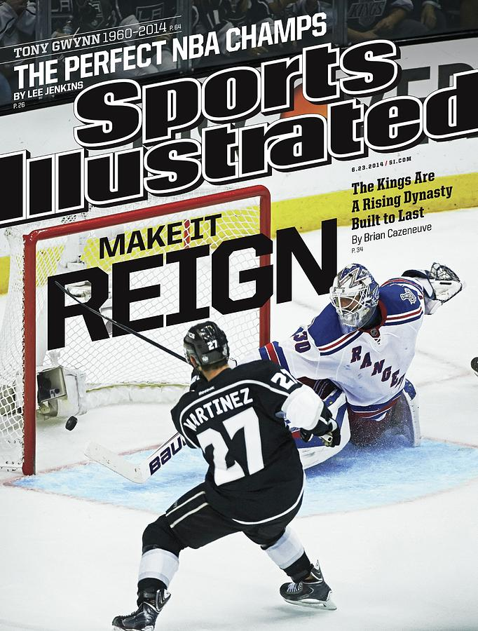 Make It Reign The Kings Are A Rising Dynasty Built To Last Sports Illustrated Cover Photograph by Sports Illustrated