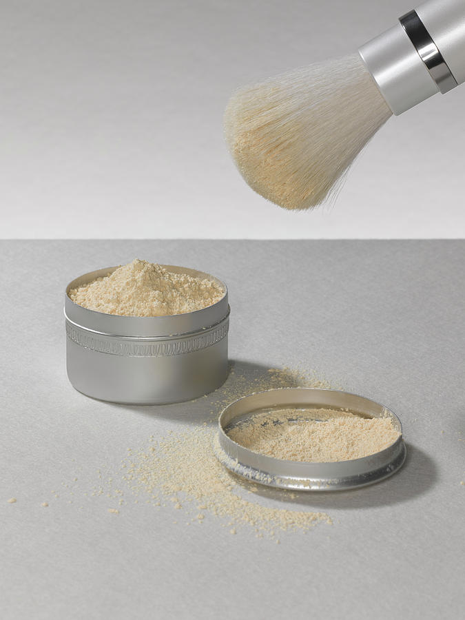 Make Up Powder Photograph by Adrian Burke