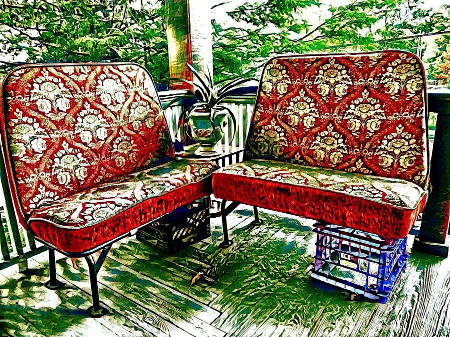 Makeshift Bench by Sarah Hanley
