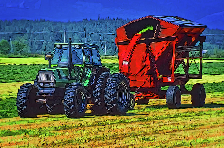 Making Hay by Richard Farrington
