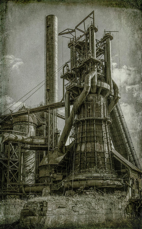 Making Steel by Ronald Santini