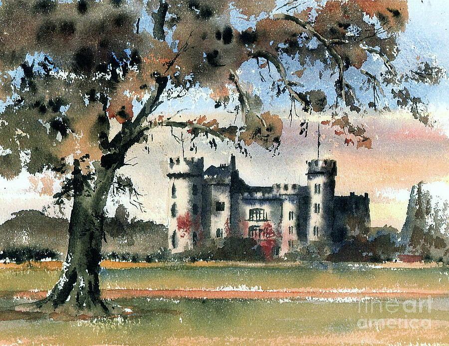 Malahide Castle, Co, Dublin by Val Byrne