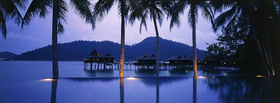 Malaysia, Pangkor Laut Island, Dusk Photograph by Peter Adams