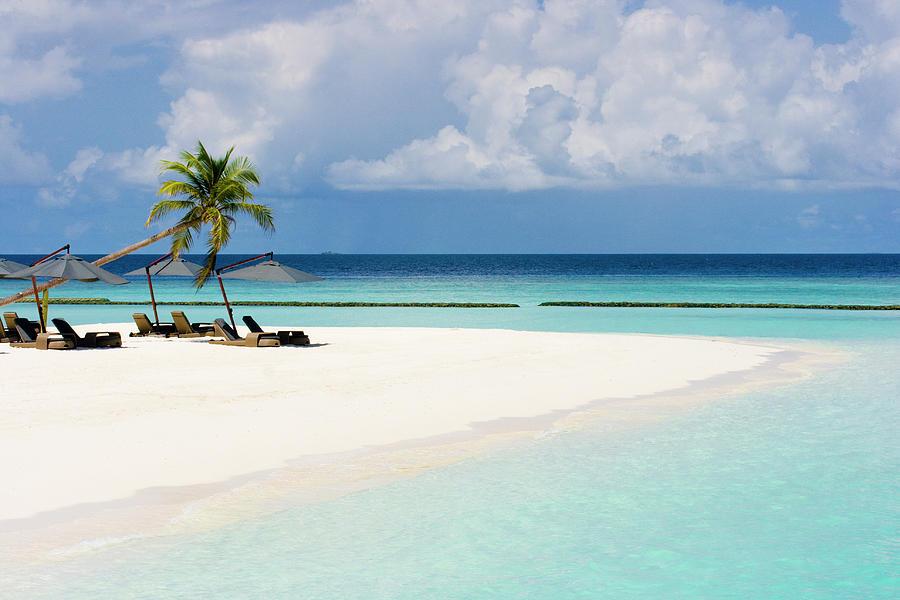 Maldives Halaveli Beach, Ari  Atoll Photograph by ©  Marie-ange Ostré