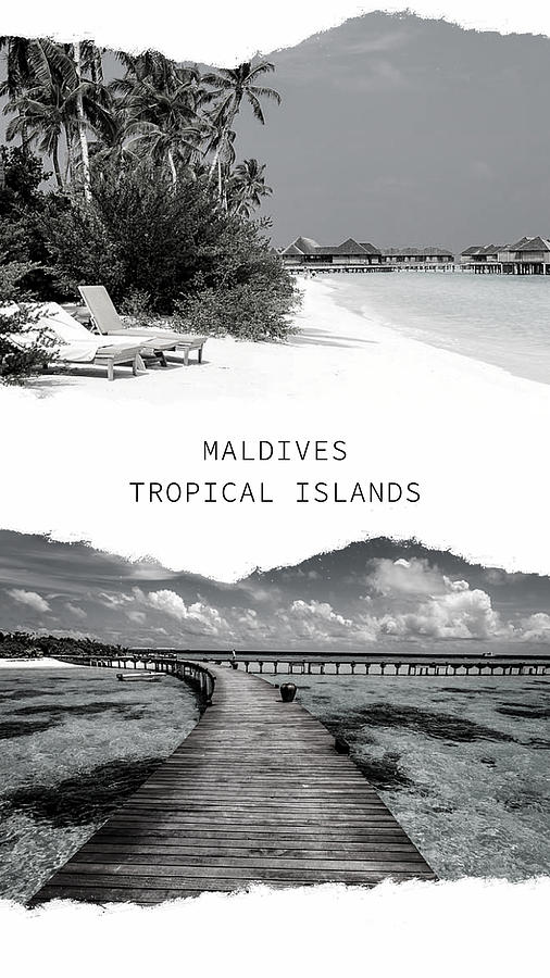 Maldives. Tropical Islands Poster 2 by Jenny Rainbow