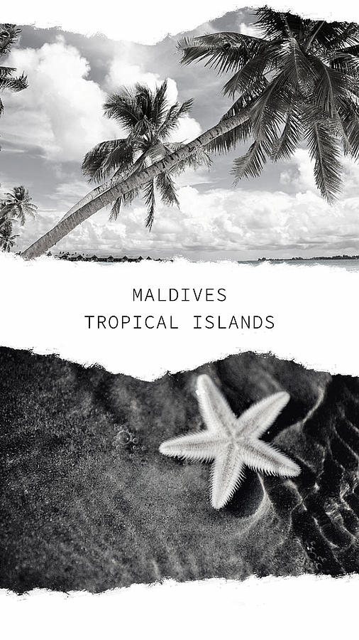 Maldives. Tropical Islands Poster by Jenny Rainbow