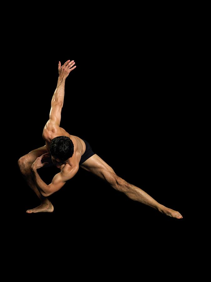 Male Dancer Performing Photograph by Image Source