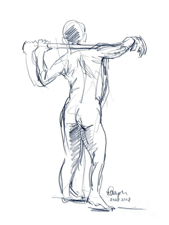 Drawing Male Figure Art
